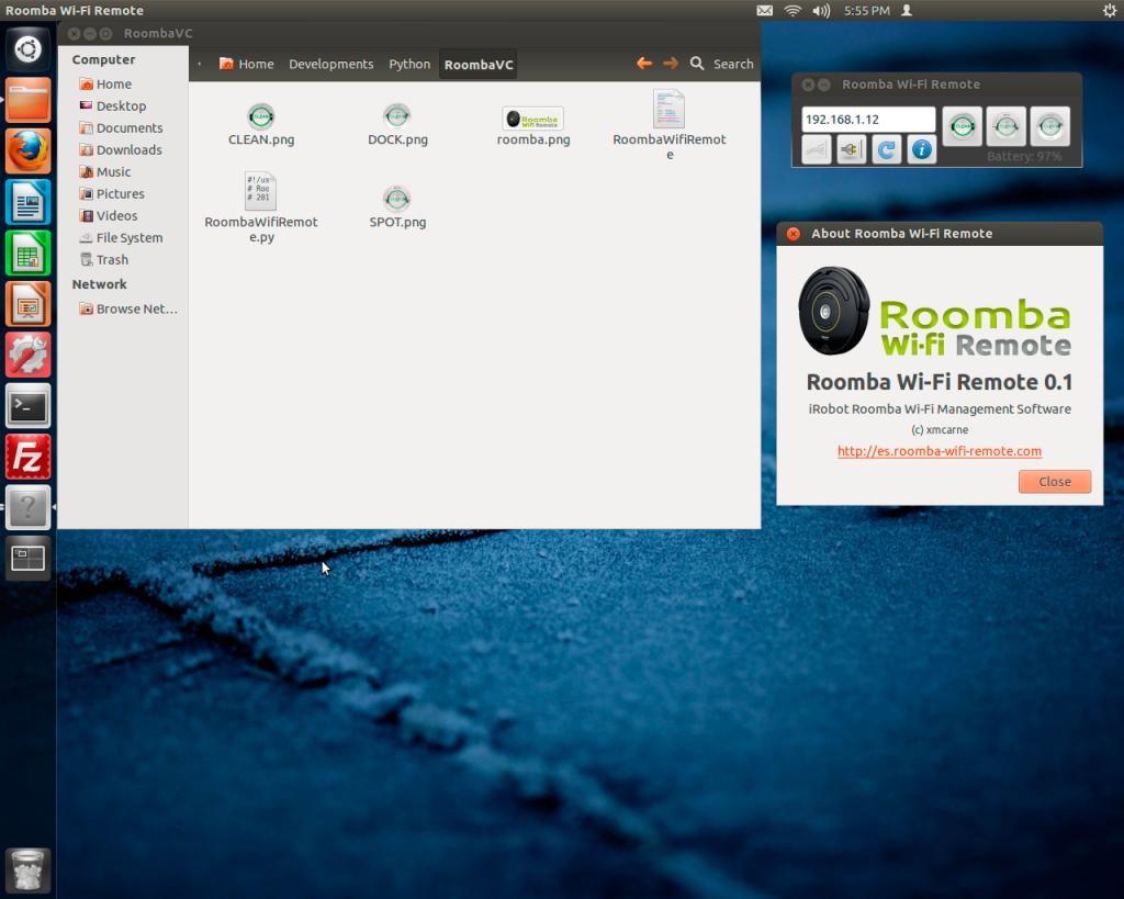 Roomba Wifi Example Python